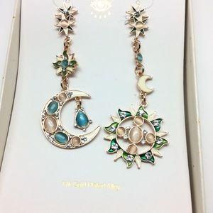 eye candy Jewelry - Eye Candy L.A. Celestial Post Earrings